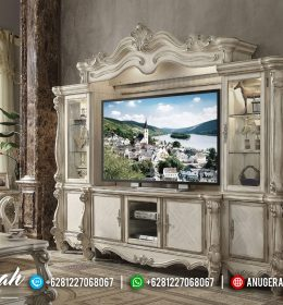 Set Bufet Tv Ukir Mewah Klasik Duco Terbaru BS-0139